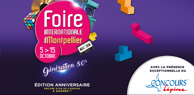 Foire internationale de Montpellier : du 05 au 15 octobre 2018