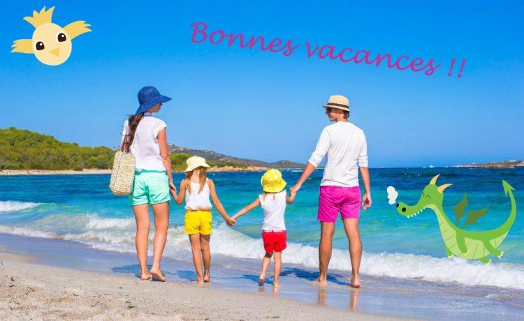 Belles vacances à tous et toutes !!
